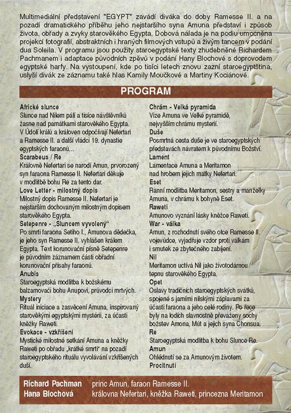 Egypt program